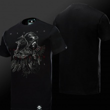 World of Warcraft Medivh Tshirts Black Tee For Boys