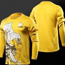 Overwatch Long Sleeve T-shirts Hanzo VS Genji Tees For Mens Boys