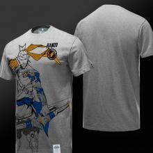 Overwatch Hanzo Hero Shirt Boy Gray Tshirts