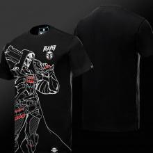 Overwatch Reaper Hero Tee Shirt Mens Black T-shirts
