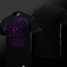 WOW World of Warcraft Drake Dog Tees Mens Black T-shirts