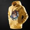 Cartoon Overwatch Mei Hooded Sweatshirt Mens Black Hoodie