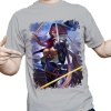 Mens Yellow LOL The Grand Duelist  Fiora Tshirts For Men