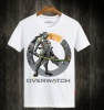Overwatch Genji Hero Tees White 3XL T-Shirts