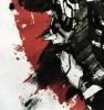 Cool Blizzard Overwatch Tees Reaper Ink Print Tshirt