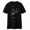 Blizzard OW Genji Tee Shirt Black Couple OW Hero T-shirts
