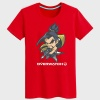 Blizzard Over Watch Hanzo T Shirts Black Unsex Cotton Tees