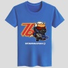 Blizzard Overwatch Soldier 76 T-shirts Black Couple Tees