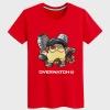 Lovely Overwatch Torbjorn Hero Tee Boys black Tshirt