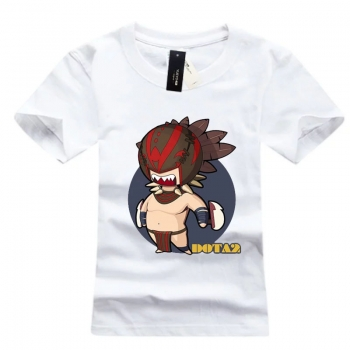 DOTA 2 Hero Bloodseeker t-shirt High Quality White Tee Shirt