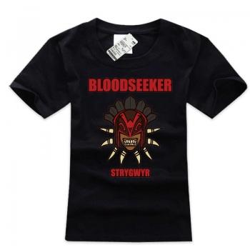 DOTA 2 Hero T-shirt Bloodseeker Black Teeshirt with xxxl Plus Size