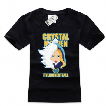 Crystal Maiden Character Tees High Quality Black T Shirt