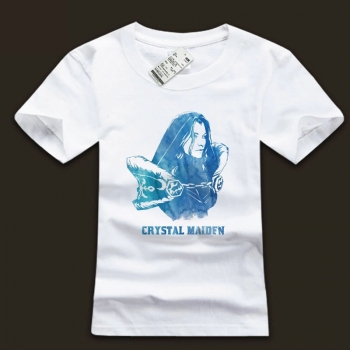 DOTA 2 Crystal Maiden Tees Ink Printing White T-Shirt