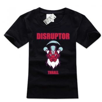 Nice Disruptor Hero T-shirt Plus Size Black Shirt For Dotaers