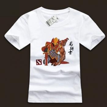 Quality DOTA 2 Dragon Knight White Teeshirt