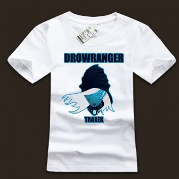 Drow Ranger Hero Tees Quality 3xl Plus Size T Shirt For Boys