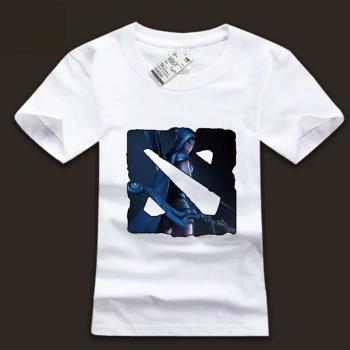 Drow Ranger Character Tee Shirt DOTA2 Logo T-shirt