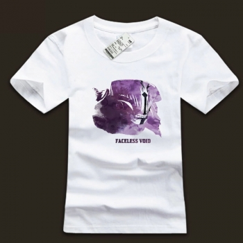 High Quality White Ink Tee DOTA 2 Faceless Boid Tshirt