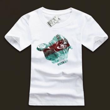 Huskar Character Tees DOTA2 Hero Black Tshirt with Plus Size