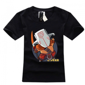 DOTA 2 Juggernaut Hero T-Shirt Short Sleeve Tees For Boys