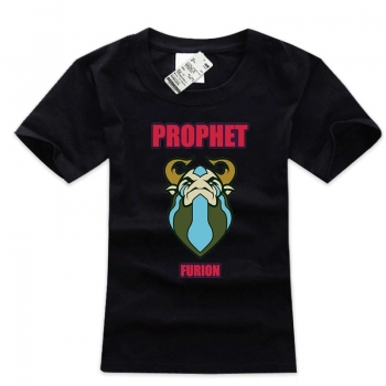 DOTA 2 Natures Prophet T-shirt Black Hero Tee For Mens