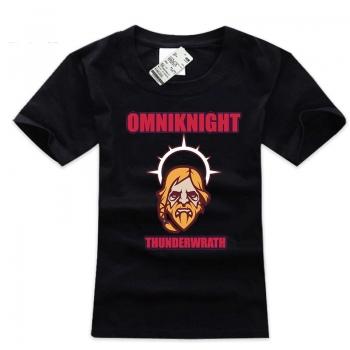 DOTA 2 Omniknight T-shirt Cotton 3xl Size Mens Tee
