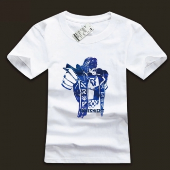 Omniknight Hero Tshirt DOTA 2 Computer Game Ink Printed Tee For Boys