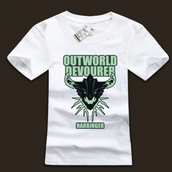 Outworld Devourer Design T-shirt DOTA 2 Computer Game Tee For Mens