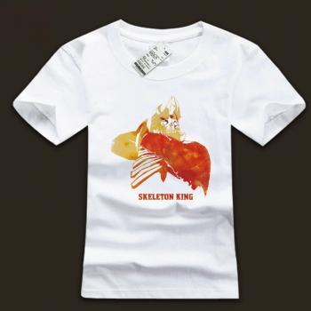 DOTA 2 Skeleton King O-neck tshirt