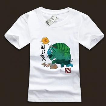 DOTA 2 Tidehunter Computer Game tee shirts