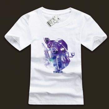 DOTA 2 Tinker Cotton tshirts