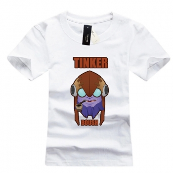DOTA 2 Tinker Cotton graphic tees