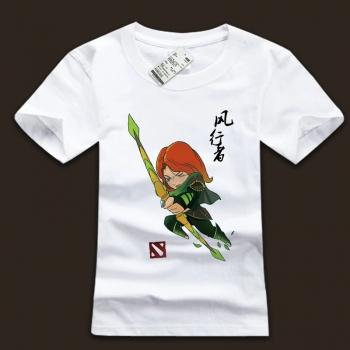 DOTA 2 Windrunner Hero teeshirt