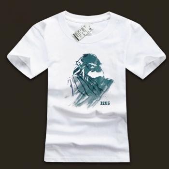 DOTA 2 Zeus O-neck tshirts