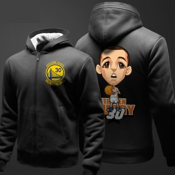 NBA Curry Sweatshirt Men Black Sweater