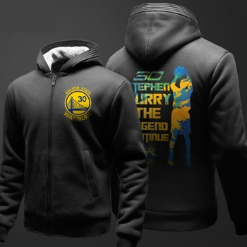 NBA Curry Hoodie For Mens Black Sweatshirt