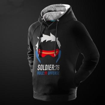Blizzard Overwatch Soldier 76 Hoodie Cool OW Soldier76 Sweatshirt
