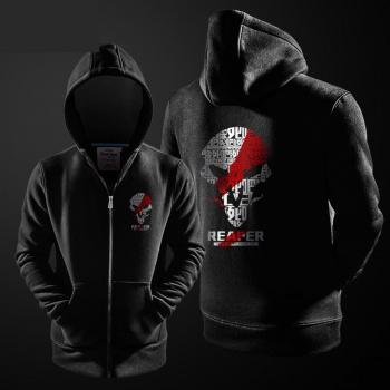 Overwatch Reaper Hoodie para la camisa de sudor negro joven