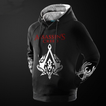 assassin 39 s creed game sweatshirts gray sweat shirt for. Black Bedroom Furniture Sets. Home Design Ideas