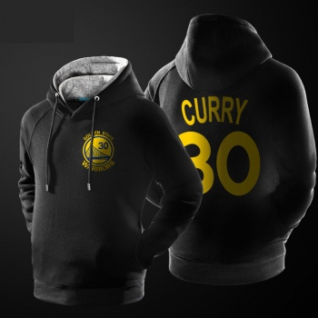 NBA Curry Sweatshirt Men Black Pullover Sweater
