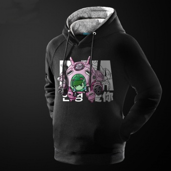Love Overwatch D.Va Sweatshirt Blizzard OW DVA Hoodie For Men Boy