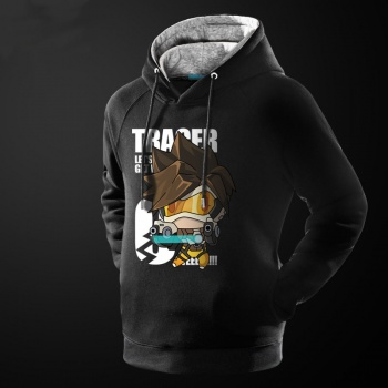 Overwatch Tracer Hero Hoodie Blizzard OW Game Sweatshirt For Him