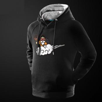 DBZ Dragon Ball Z Maestro Roshi Hoodie Negro suéter jersey para la juventud