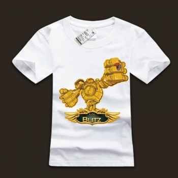 LOL Great Steam Golem Blitzcrank T-Shirts For Mens