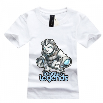 LOL Volibear T-shirts White Mens Tees