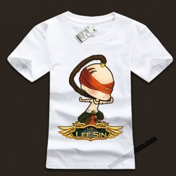Cool LOL Lee Sin Tees For Boys