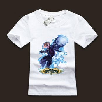 High Quality league of leagends The Prodigal Explorer T-Shirts For Men