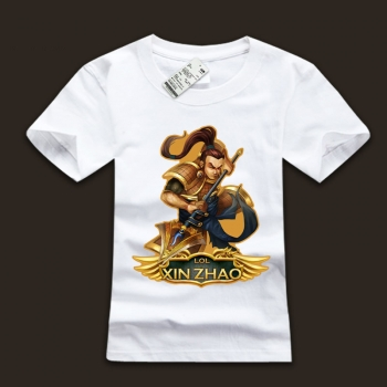 league of leagends Xin Zhao Hero T-Shirts For Men