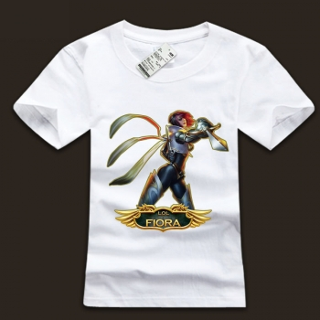 Cool LOL The Grand Duelist Fiora T-shirts For Men