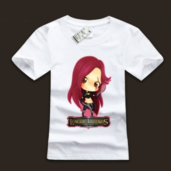 High Quality league of leagends Katarina TShirts For Men